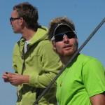 Klemen Bauer na vrhu Triglava